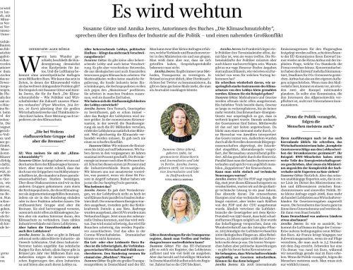 """Auftaktinterview zum Buchstart: """"Es wird wehtun"""""""