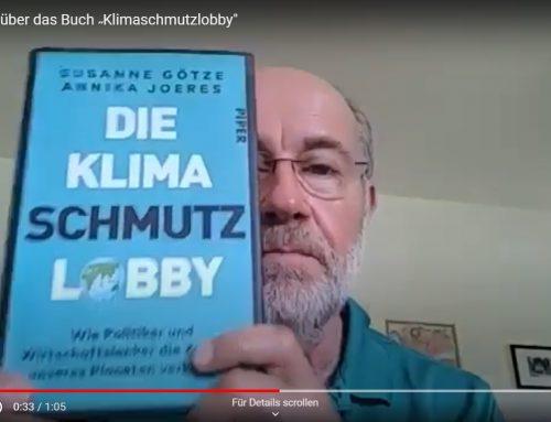 "TV-Wissenschafts-Papst Prof. Harald Lesch über unser Buch ""Klimaschmutzlobby"""