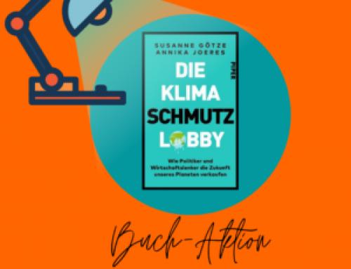 """Lobbycontrol: Buchaktion """"KlimaSchmutzLobby"""""""